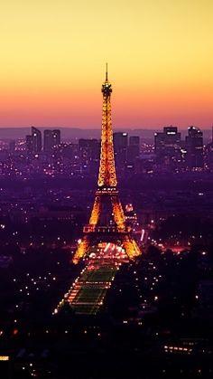 Preview paris, france, eiffel tower, lights