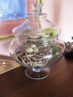 More bird nests; created by Christine's Creations, Woodstock, GA.