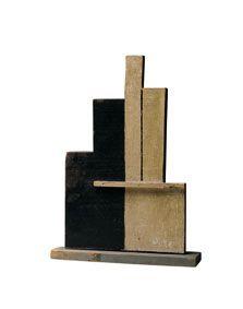 Autor: Joaquín Torres-García; Título: Estructura en Blanco y Negro; Año: 1930