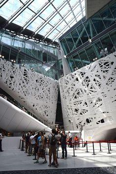 Italy Pavilion at Expo Milan 2015 #raiexpo #expo2015 #italy #milan #worldsfair #architecture