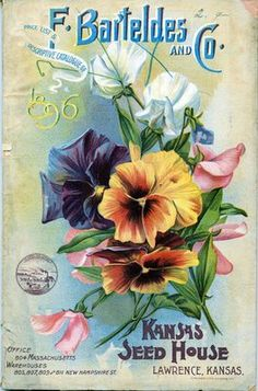Kansas Seed House...catalogs and flyers were hand made and so beautiful..such a dying art