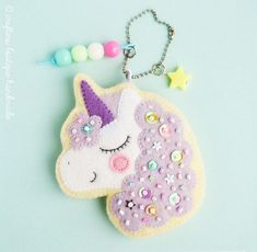 Magical unicorn felt sewing pattern - Crafters Boutique
