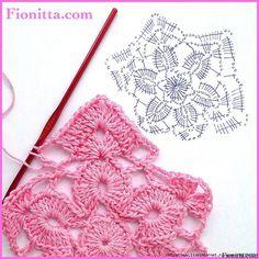 Plaid coloratissimo realizzato con mattonelle all'uncinetto.   fonte:http://www.liveinternet.ru/users/4938422/post302224838/