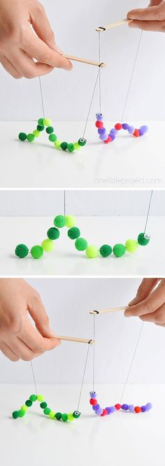 fun crafts for teenagers - fun crafts for kids ; fun crafts for teenagers ; fun crafts for kids to do at home ; fun crafts for adults ; fun crafts to do at home ; fun crafts to do when bored ; fun crafts for toddlers Crafts For Kids To Make, Art For Kids, Kids Diy, Super Easy Crafts For Kids, Summer Crafts For Kids, Diy Gifts For Kids, Crafty Kids, How To Make, Pom Pom Crafts