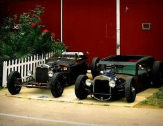 2 awesome Rat Rods