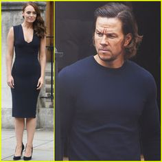 Mark Wahlberg Gets to Work on 'Transformers: The Last Knight'With Laura Haddock in London__Mark Wahlberg slicks his hair back while getting into character for Transformers: The Last Knight filming on Monday (September 5) in London, England.  Read more: http://www.justjared.com/page/2/#ixzz4JTW0TP4k