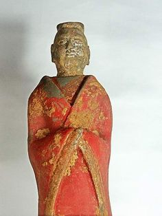 Northern Wei dynasty statue depicting Han Chinese clothing in Xianbei