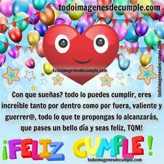 imagenes-de-cumpleanos-para-tios (10) - CUMPLEAÑOS CLUB Character, Club, Birthday Captions, Iron, Lettering