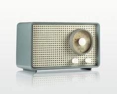 Braun SK 2 table radio by Dr Fritz Eichler and Artur Braun, 1953 #vintage #vintage_radio #braun