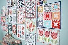 Mini Mania - Anleitung für einen Cathedral Window Mini Quilt » BERNINA Blog
