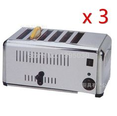 328.36$  Buy now - http://ali775.worldwells.pw/go.php?t=32237143186 - 3PCS/Lot  EST-6 Household Automatic Stainless Steel of 6 Slice Toaster Bread Machine Home Appliance 328.36$