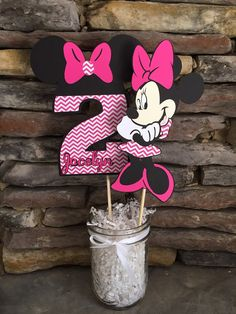 Minnie Mouse Centerpiece Birthday Party par PersonalizedPartyDec