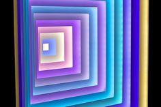 Light Sculpture Animates Frank Stella's Concentric Squares - Creators