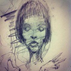 "#drawing #studydrawing #rabiscos #rascunho #senseblack #sketch #firstidea #15""draw"