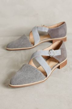 Shop the KMB Cross-Strap Denim Flats and more Anthropologie at Anthropologie today. Read customer reviews, discover product details and more.
