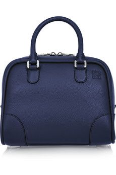 Loewe Amazona 75 small textured-leather tote | NET-A-PORTER