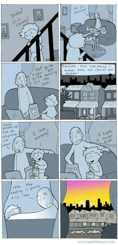 lunarbaboon - Comics - Norning