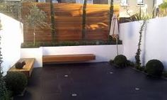 Image result for contemporary courtyard garden ideas uk