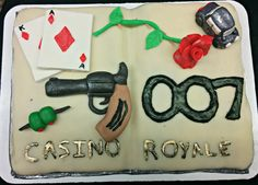 Casino Royale at Johnson & Wales University Denver Campus Library's Edible Book Contest April 2015