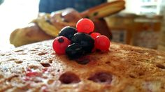Une envie de pancakes aux fruits rouges (vegan et sans gluten)