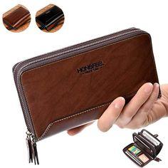 PU Clucth Wallets Handy Bags Phone Card Holder Wallet for Men BazaCenters. Sierra Leone, Belize, Uganda, Sri Lanka, Mongolia, Seychelles, Puerto Rico, Montenegro, Thailand
