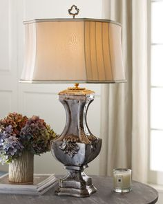 """Fleur-De-Lis"" Lamp by John-Richard Collection at Horchow. See what is inspiring us and find out more by following us www.facebook.com/tanandbrown"