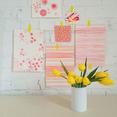 SnapWidget   tulips & patterns