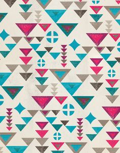 love this pattern and colour wave