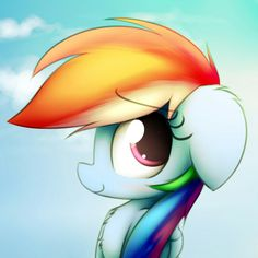 Dashie by HeavyMetalBronyYeah on DeviantArt Rainbow Dash And Soarin, Dan Phantom, Raimbow Dash, Dark Disney, Magic Art, My Little Pony Friendship, Fluttershy, Pop Culture, Disney Characters