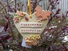 In The Garden ceramic heart keepsake by LeadonValleyCrafts on Etsy, £9.50