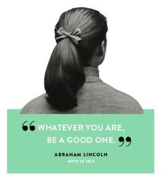 Well said, Abe.