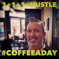 Today David Roth and I talked about how Landscape Architects and Engineers hustle for My CoffeeADay Initiative: 1 Coffee, 1 Person, Every Day.  http://coffeeaday.net/post/111533920411/today-david-roth-and-i-talked-about-how-landscape