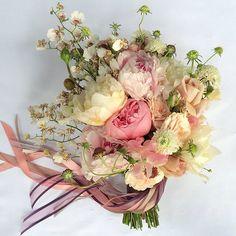 soft, romantic bouquet