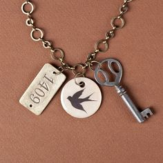 Wear this piece when you need a reminder to go after the dreams that make you truly happy.