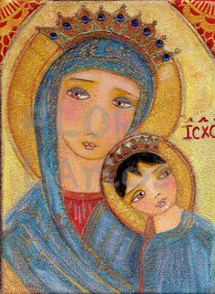 Our lady of Perpetual Help   Giclee print mounted on by FlorLarios, $30.00