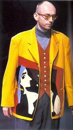 Yohji Yamamoto Menswear Fall/Winter 1991