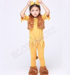 Kids girls cute the lion king rubies #disney #simba fancy dress #costume outfit…