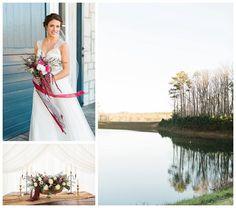 Wintry Blush + Berry Wedding - Smitten Magazine | Smitten Magazine