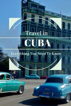 General info, tips, tricks and advice to travel Cuba, from someone who figured it out as she went along. And made some mistakes...