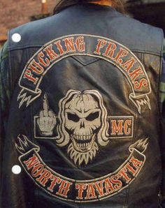 motorcycle club colors
