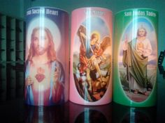 Jesus ,Guadalupe ,Judas and Miguel Thermal transfer electronic candles led lamp velas decorativas - http://www.aliexpress.com/item/Jesus-Guadalupe-Judas-and-Miguel-Thermal-transfer-electronic-candles-led-lamp-velas-decorativas/32276044956.html