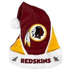 NFL 2014 Colorblock Santa Hat Washington Redskins
