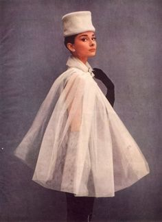 adorable  Audrey Hepburn / Cosmopolitan February 1957