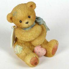 Heidi´s Cherished Teddies Galerie: DIANA -Pink Heart - U S Event Exclusive - I Cherish Your Bear Hugs (786845)