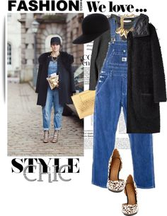 """""""Street Style - Stockholm"""" by lidia-solymosi on Polyvore"""