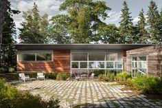 House on a Cove - modern - Exterior - Portland Maine - Elliott + Elliott Architecture