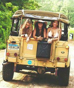 Land Rover Ladies