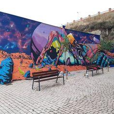 "Deih, ""Overload/Sobrecarga"" in La Bañeza, León, Spain, 2020 Street Art, Spain, Sevilla Spain, Spanish"