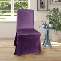 IKEA Henriksdal Dining Chair Cover, Purple Velvet   affordable, designer, custom, handmade, trendy, fashionable, locally made, high quality Ikea Dining Chair, Dining Chair Covers, Purple Velvet, Slipcovers, Luxury, Handmade, Design, Style, Swag
