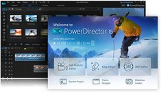 CyberLink PowerDirector 15 Ultimate Crack is a software that elegant design, crafted to make the creative process instinctive & natural.